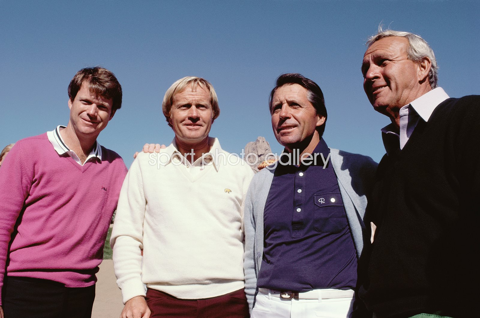 Tom Watson, Jack Nicklaus, Gary Player & Arnold Palmer 1983
