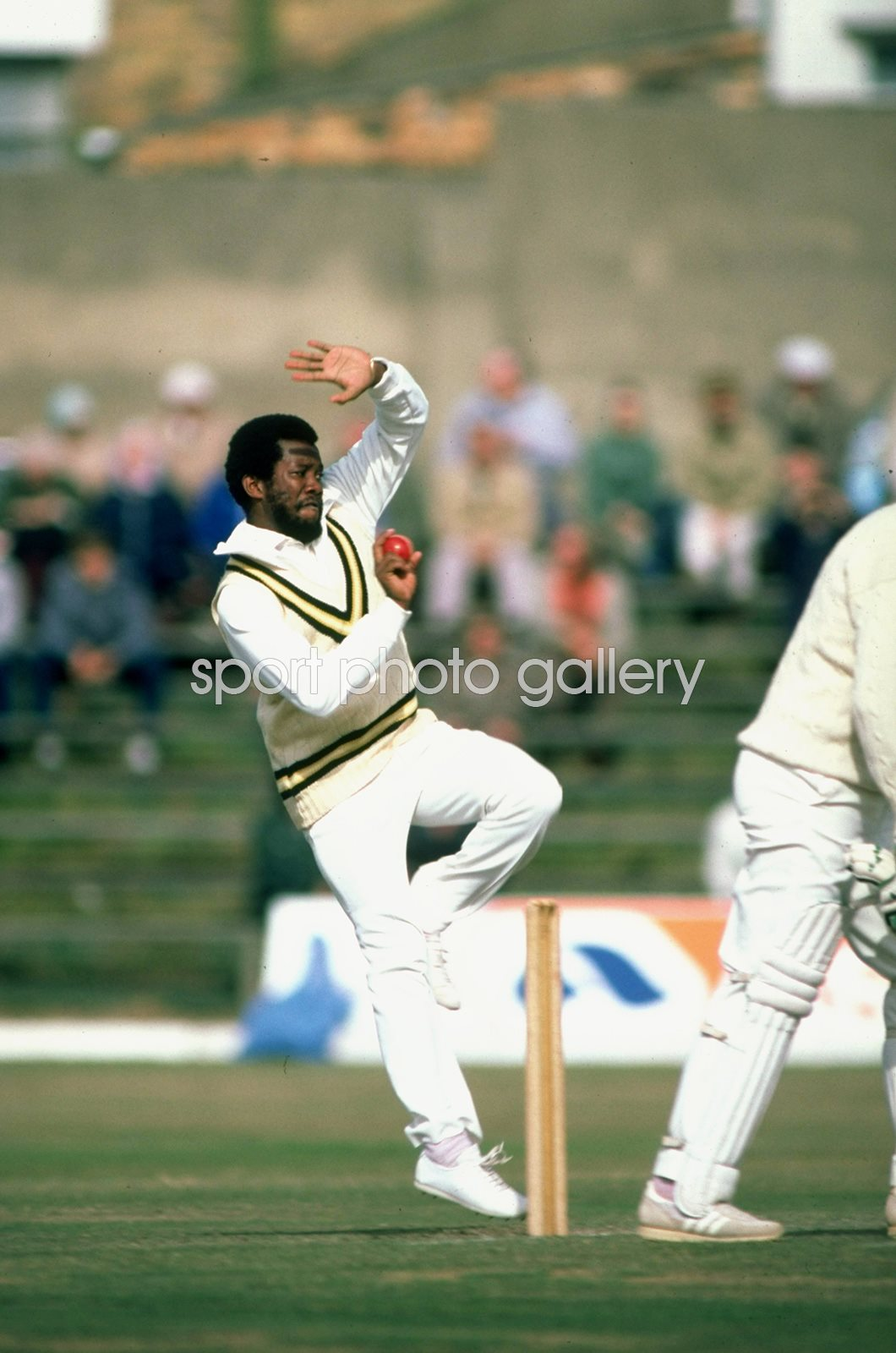 Malcolm Marshall West Indies Scarborough 1983