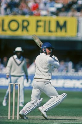 Allan Lamb England v West Indies Lord's 1984