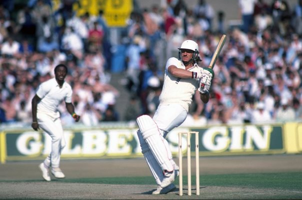 Ian Botham England v West Indies Old Trafford 1984
