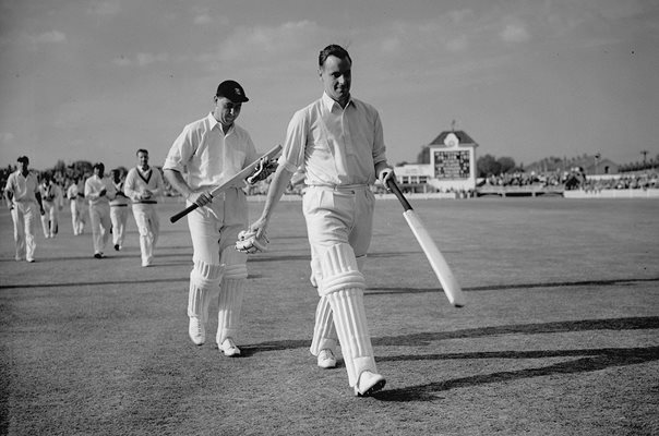 Colin Cowdrey & Peter May Record Partnership England v West Indies 1957