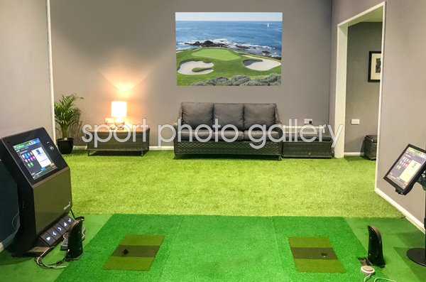7th Hole Pebble Beach Wallpaper Sticker