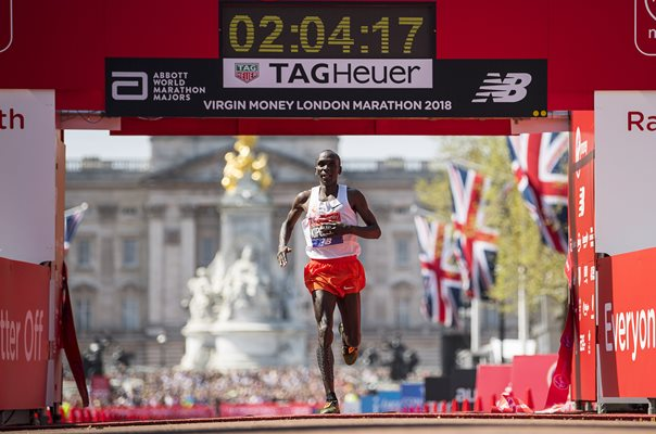 Eliud Kipchoge Winner London Marathon 2018