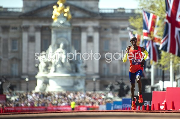 Mo Farah British Record London Marathon 2018
