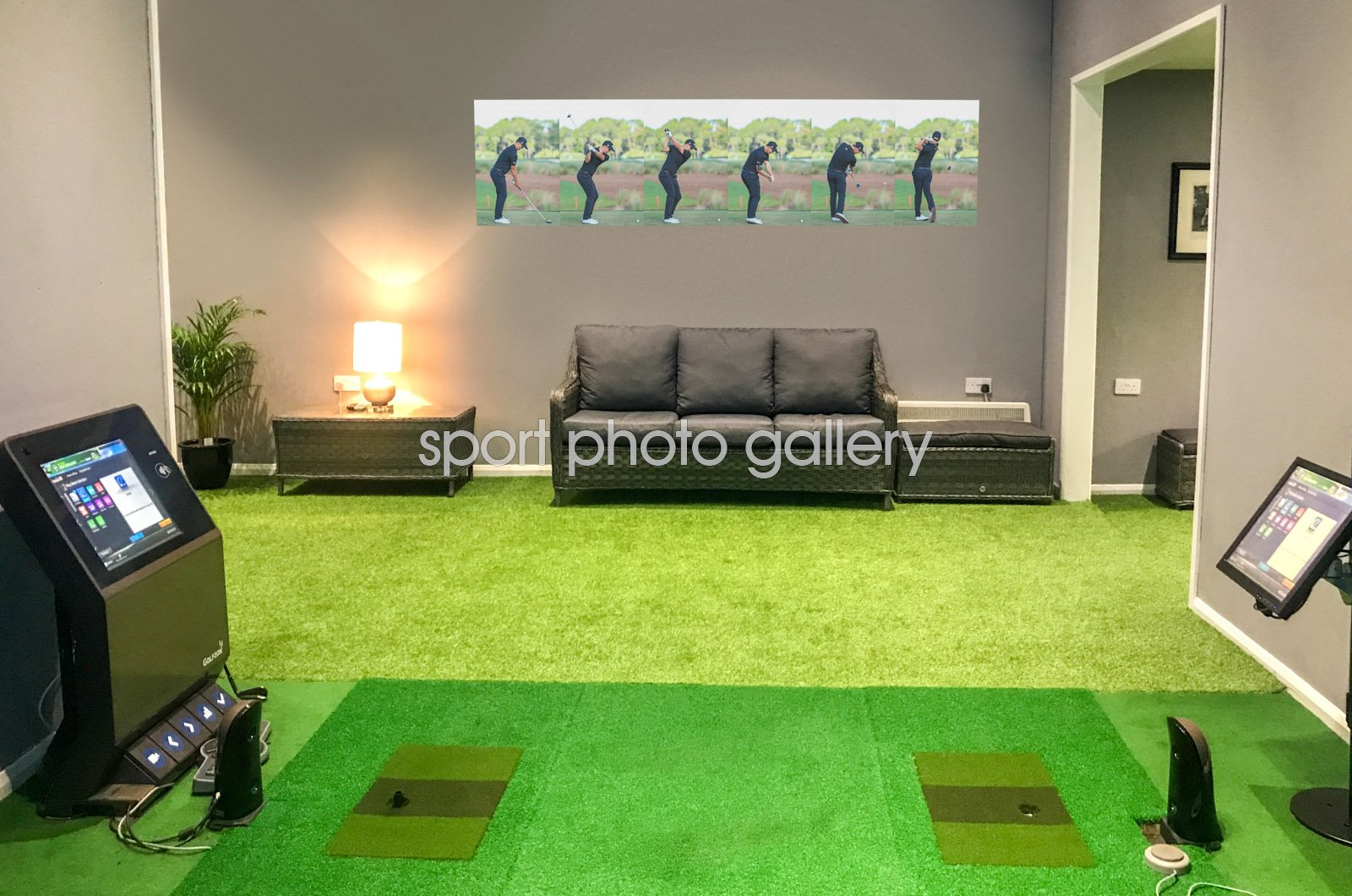 Adam Scott 6 Stage Swing Sequence 2016 Wall Sticker