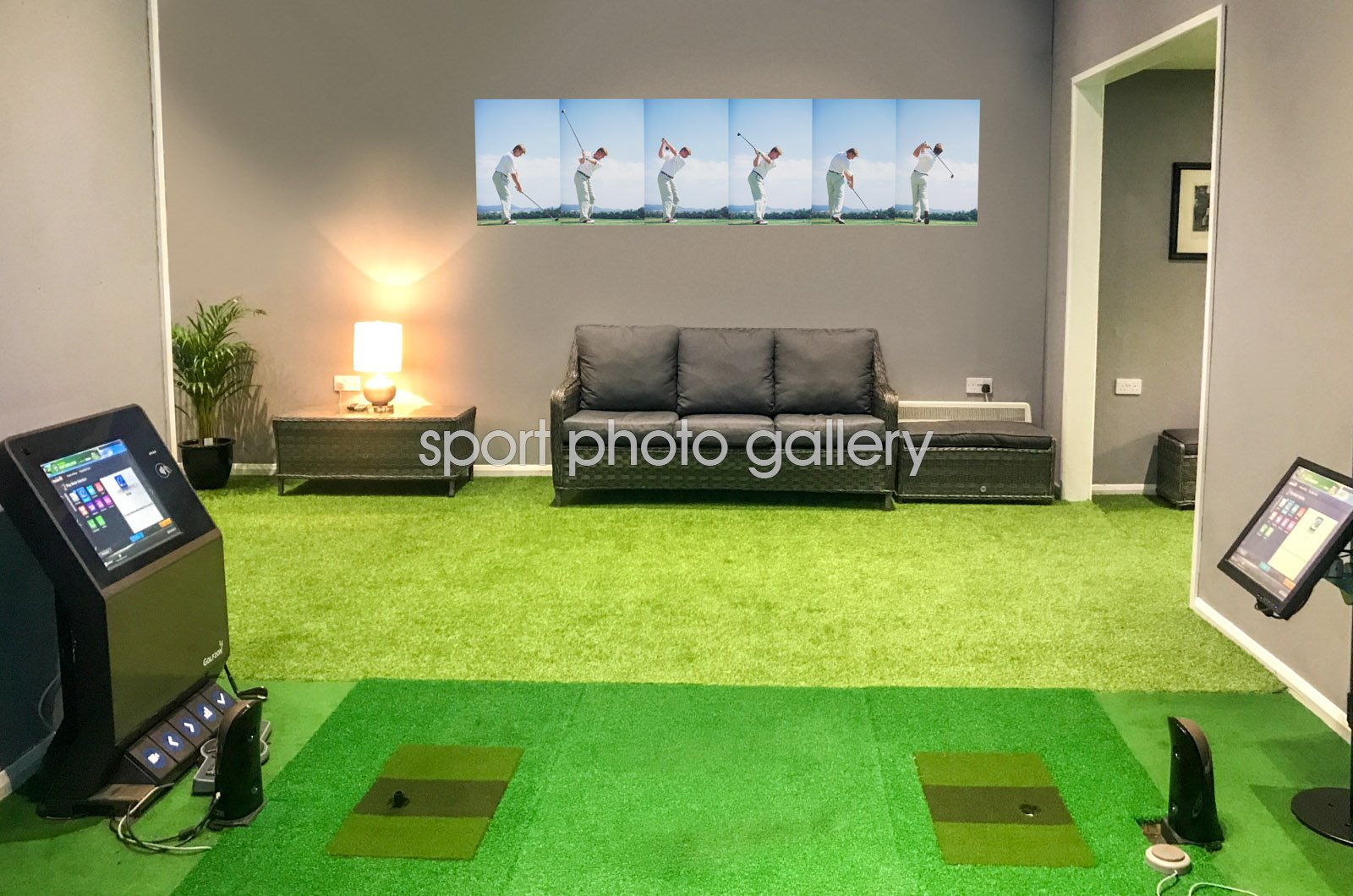 Ernie Els 6 Stage Swing Sequence Wall Sticker