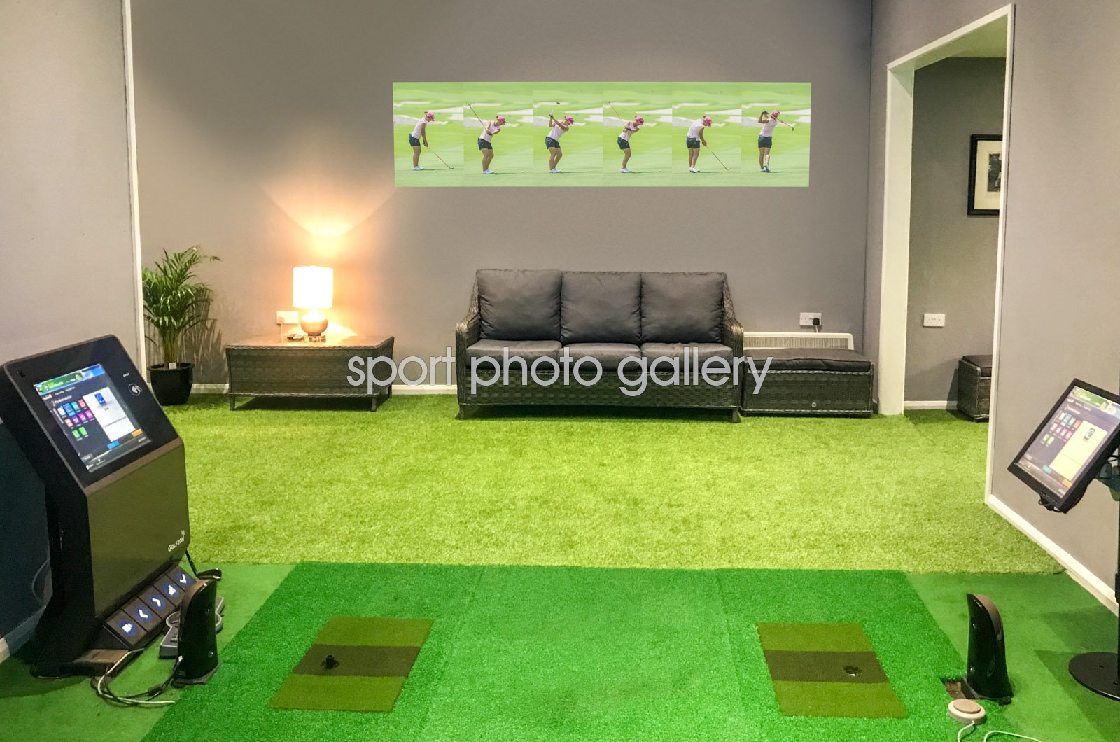 Lydia Ko 6 Stage Swing Sequence 2015 Wall Sticker
