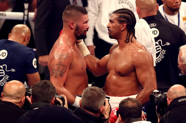 Tony Bellew wins rematch v David Haye London 2018