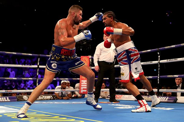 David Haye v Tony Bellew Rematch London 2018