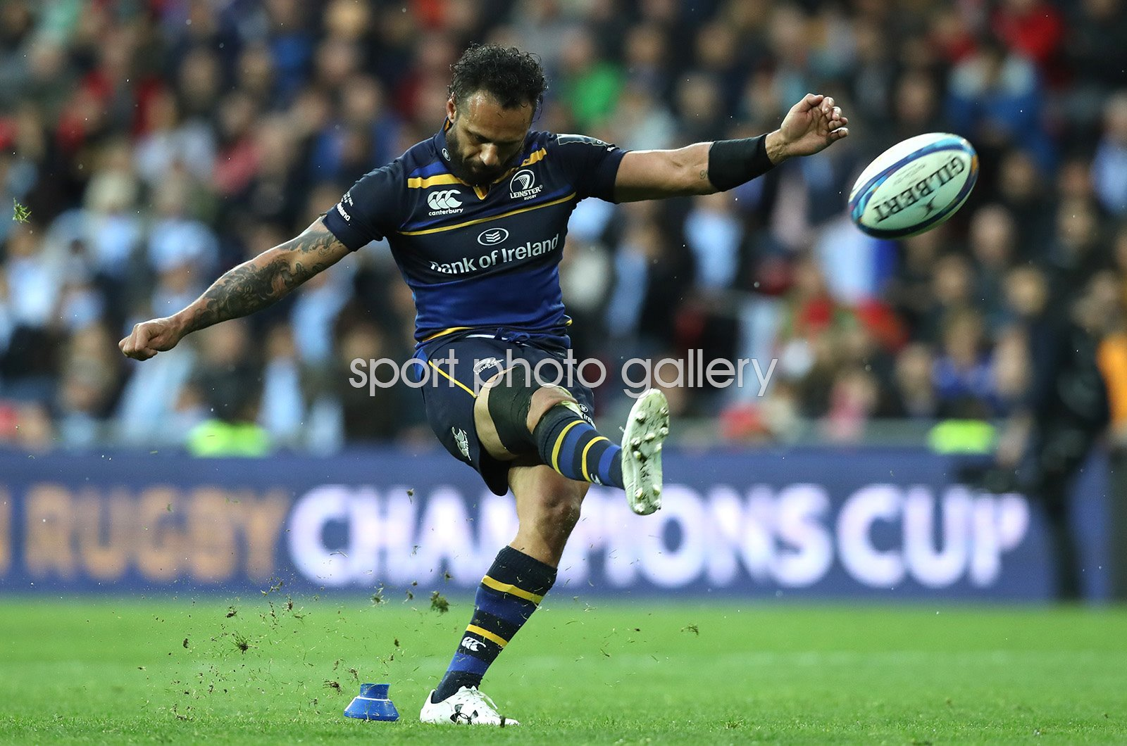 Isa Nacewa Leinster European Rugby Champions Cup Final 2018