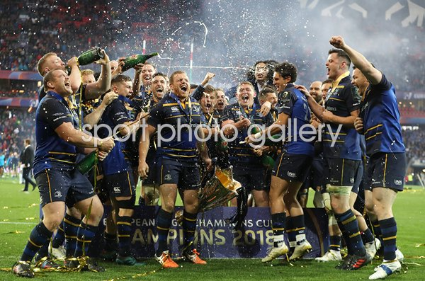 Leinster European Rugby Champions Cup Winners 2018
