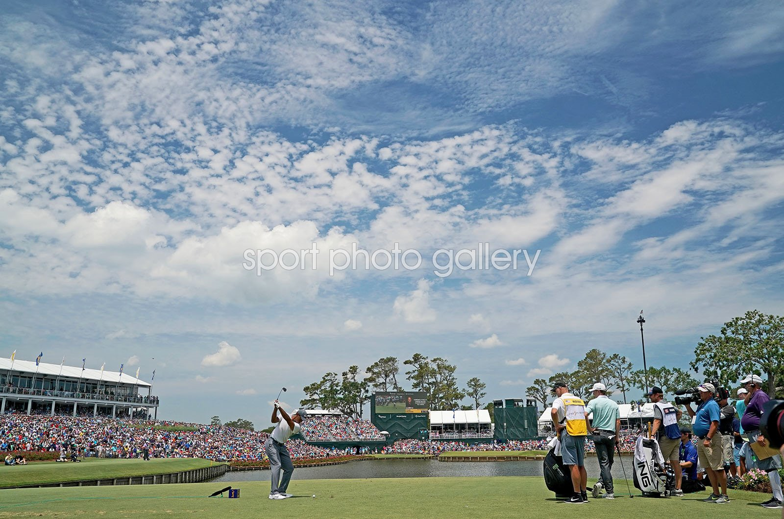 Tiger Woods 17th Tee Players Championship TPC Sawgrass 2018