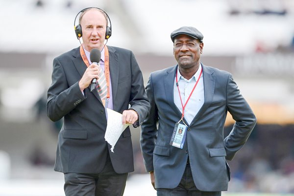 Jonathan Agnew and Sir Viv Richards Lord's 2012