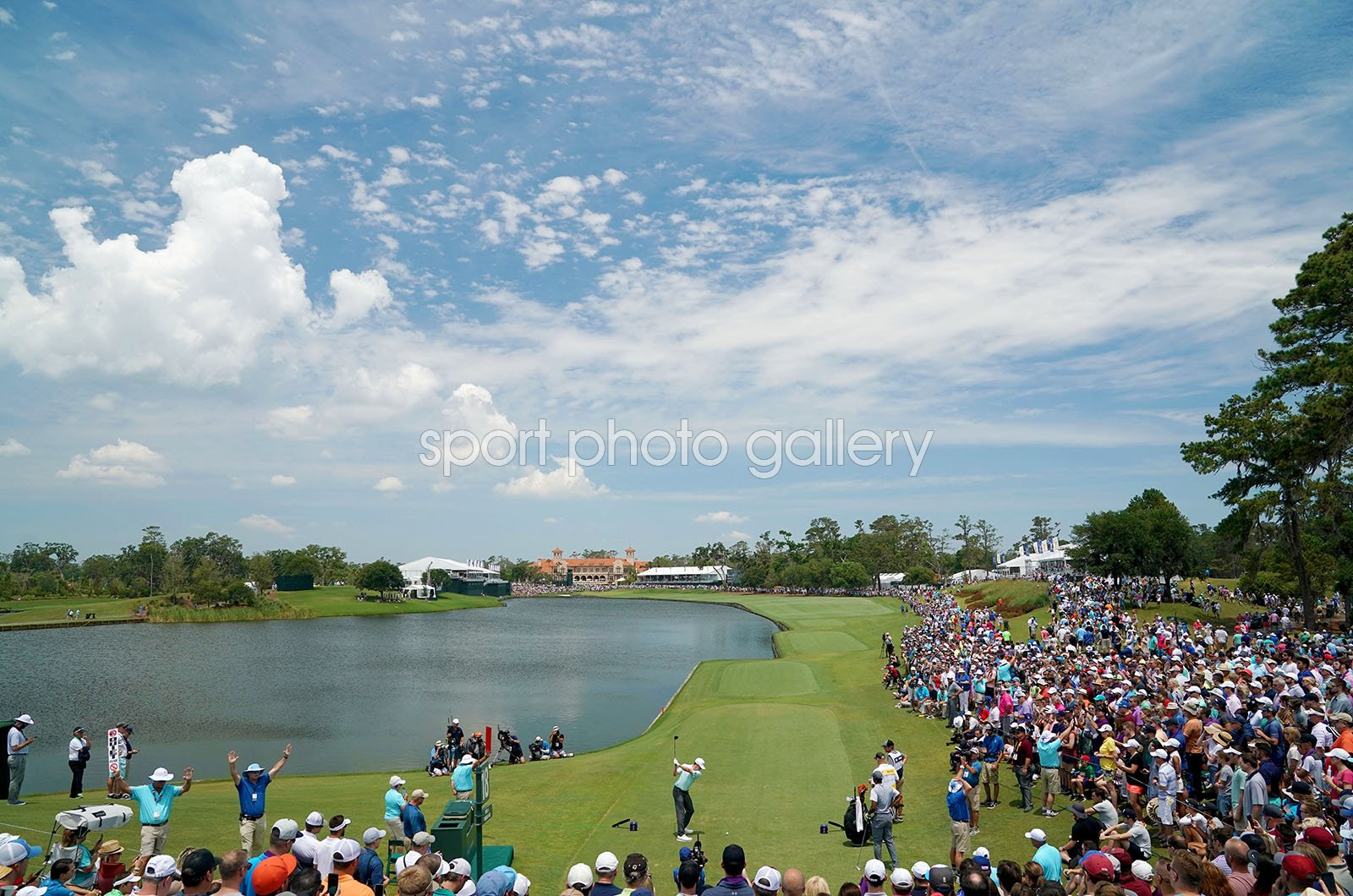 TPC Sawgrass 18th Hole Players Championship 2018