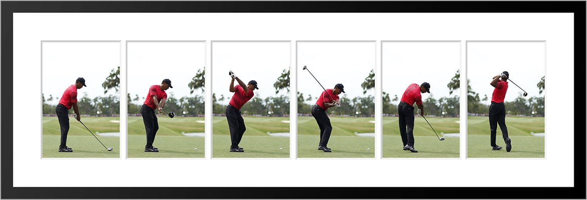Tiger Woods 2018 Golf Swing Sequence