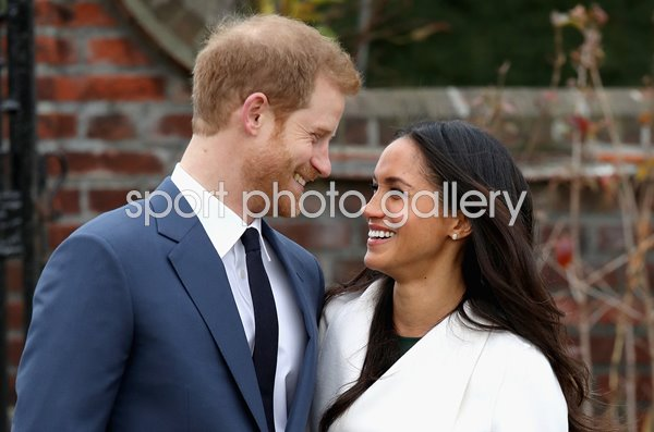 Prince Harry Engagement to Meghan Markle Kensington Palace 2017