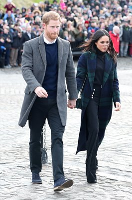 Prince Harry & Meghan Markle Edinburgh 2018