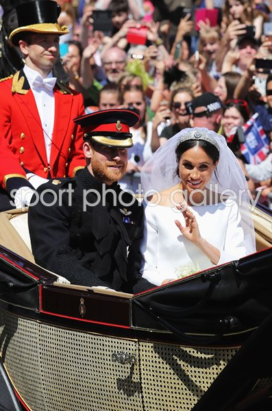 Prince Harry Marries Meghan Markle Procession Windsor 2018