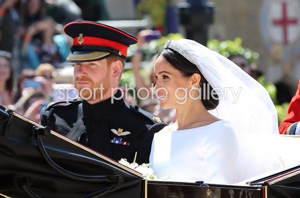 Prince Harry & Meghan Markle Wedding Procession Windsor 2018