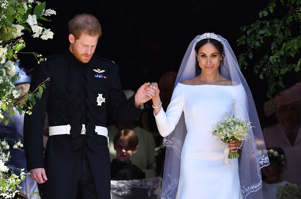Prince Harry & new wife Meghan Markle Windsor 2018