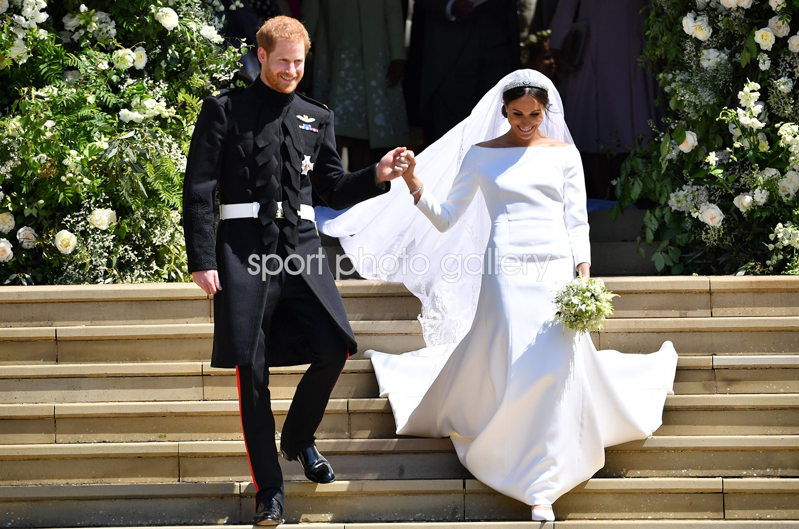 Prince Harry & Meghan Markle St George's Chapel Windsor 2018