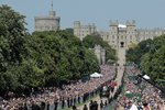 Prince Harry Meghan Markle Wedding Procession Windsor Castle 2018 Prints