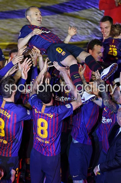 Andres Iniesta Barcelona Farewell Camp Nou May 2018