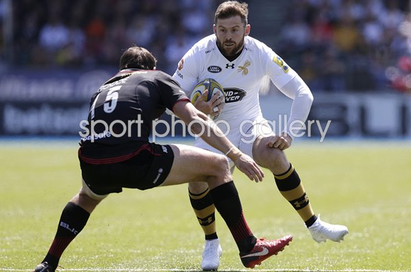 Elliot Daly Wasps v Alex Goode Saracens v Wasps Allianz Park 2018