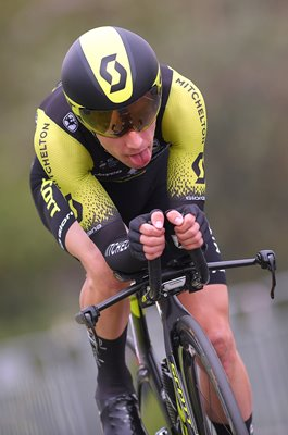 Simon Yates Mitchelton-Scott Time Trial Stage 1 Jerusalem Giro 2018