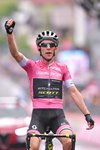Simon Yates Pink Jersey wins Stage 15 Giro 2018 Prints