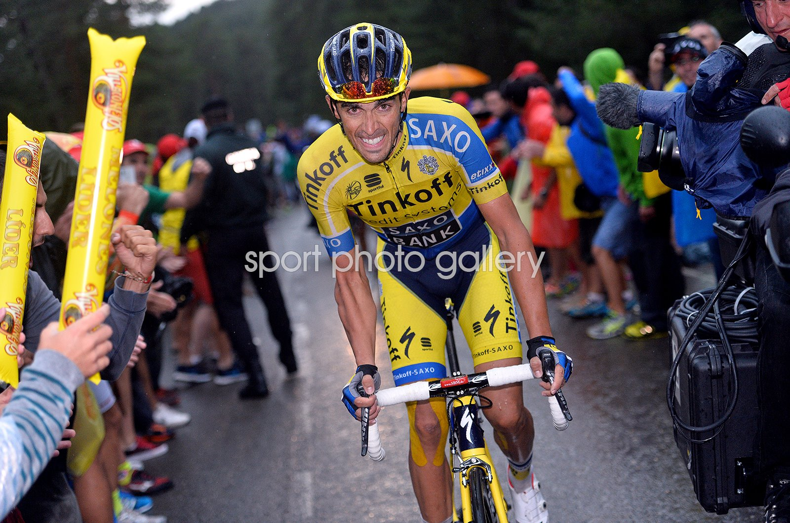 Alberto Contador Tour of Spain Vuelta Stage 9 2014