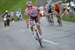 Alberto Contador Pink Jersey Race Leader Stage 13 Giro 2011 Prints