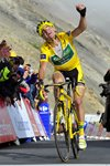 Thomas Voeckler Yellow Jersey Tour de France Stage 18 2011 Prints