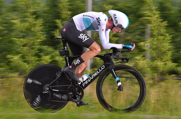 Wout Poels Netherlands Tour of Italy Time Trial 2018