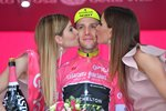 Simon Yates Pink Jersey Stage 16 Tour of Italy 2018 Prints