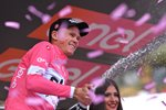 Chris Froome Sky Pink Jersey Giro Stage 19 2018 Prints