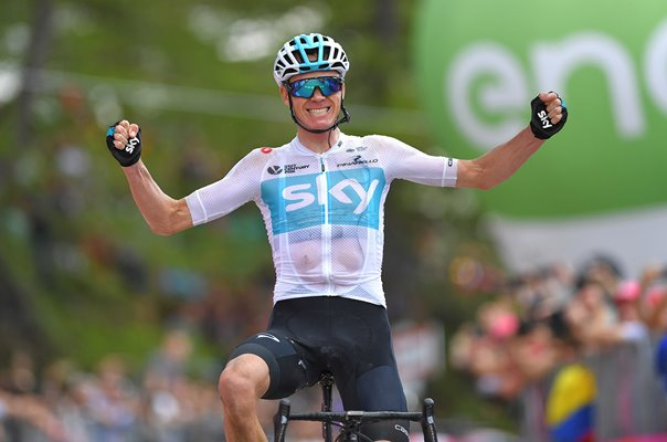 Chris Froome winner Giro d'Italia Stage 19 2018