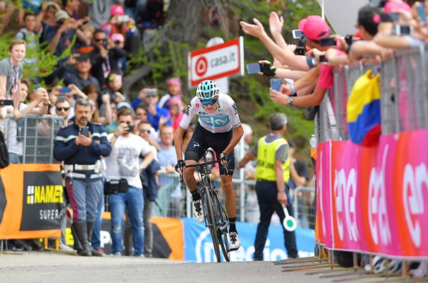 Chris Froome wins Giro Stage 19 2018