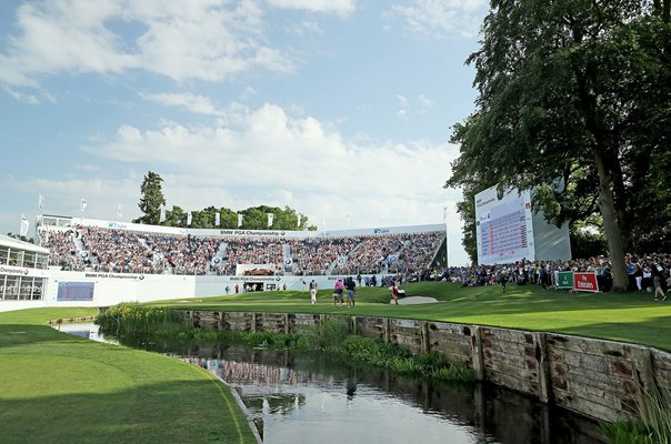 18th Hole West Course Wentworth BMW PGA Championship 2018