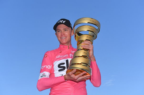 Chris Froome Great Britain Giro Champion Rome 2018
