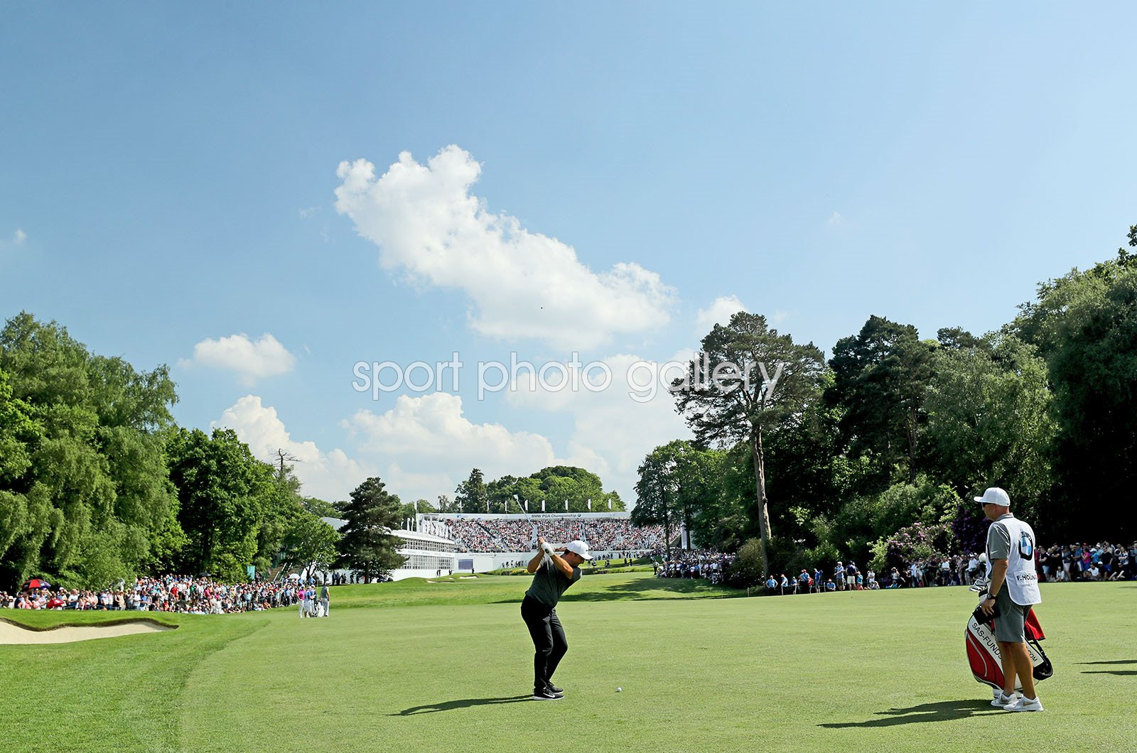 Francesco Molinari Italy 18th PGA West Course Wentworth 2018
