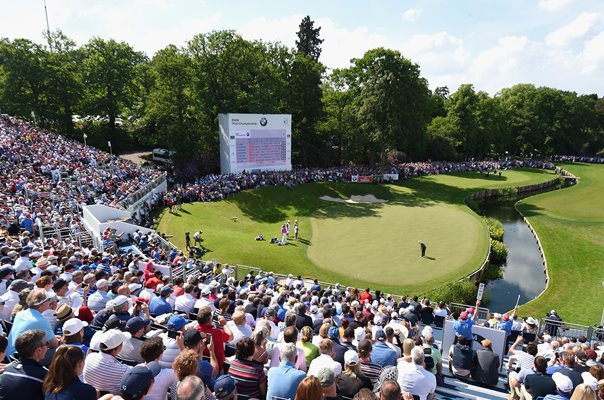 Francesco Molinari Italy Final Green PGA Wentworth 2018