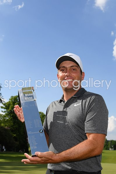 Francesco Molinari Italy BMW PGA Champion Wentworth 2018