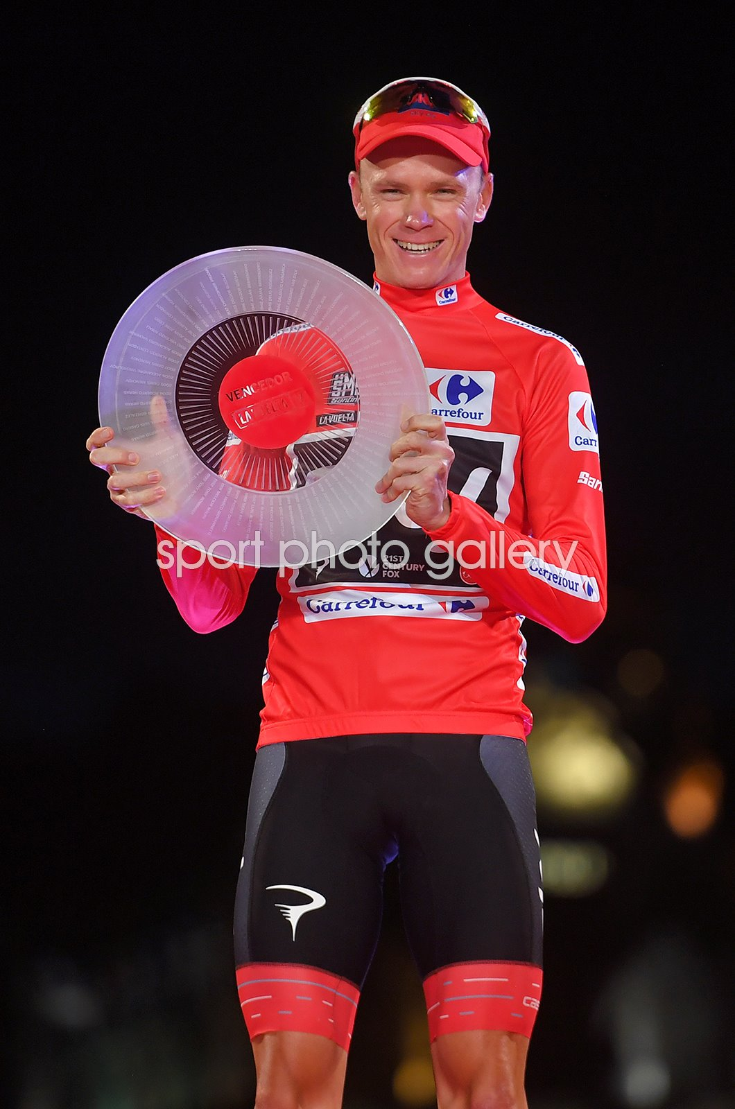 Chris Froome Champion Stage 21 Madrid Vuelta 2018
