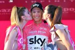 Chris Froome Podium Stage 21 Rome Giro 2018 Canvas