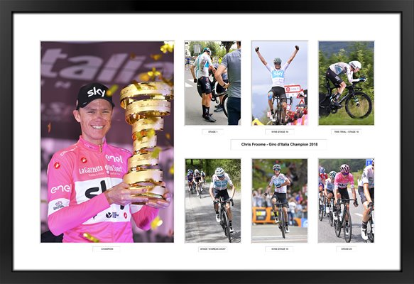Chris Froome 2018 Giro d'Italia 7Up Special