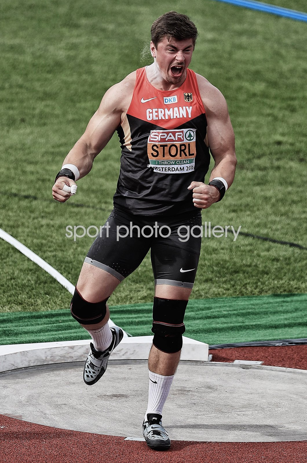 David Storl Germany European Athletics Amsterdam 2016