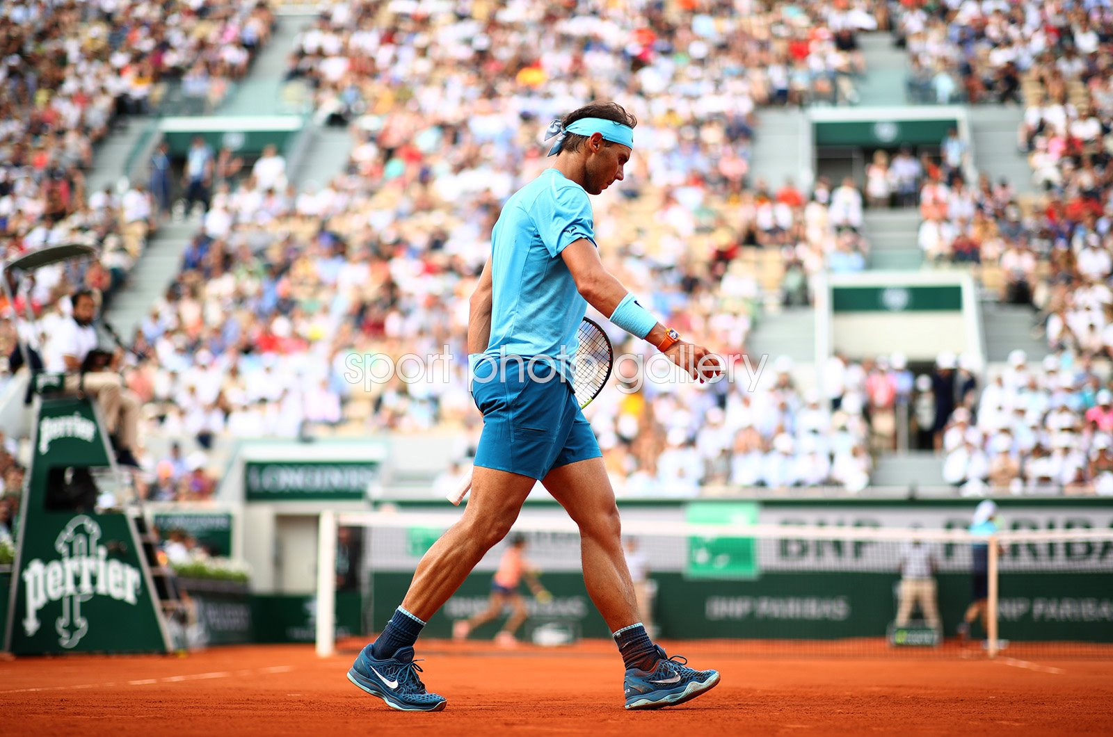 Rafael Nadal Baseline French Open Paris 2018