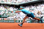 Rafael Nadal Forehand Paris French Open 2018 Prints
