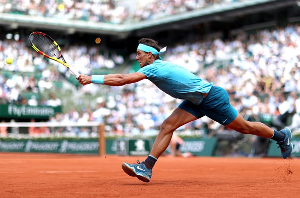 Rafael Nadal Forehand Paris French Open 2018